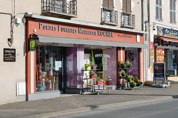 Pompes funèbres Rocher à Gannat - Allier (03)